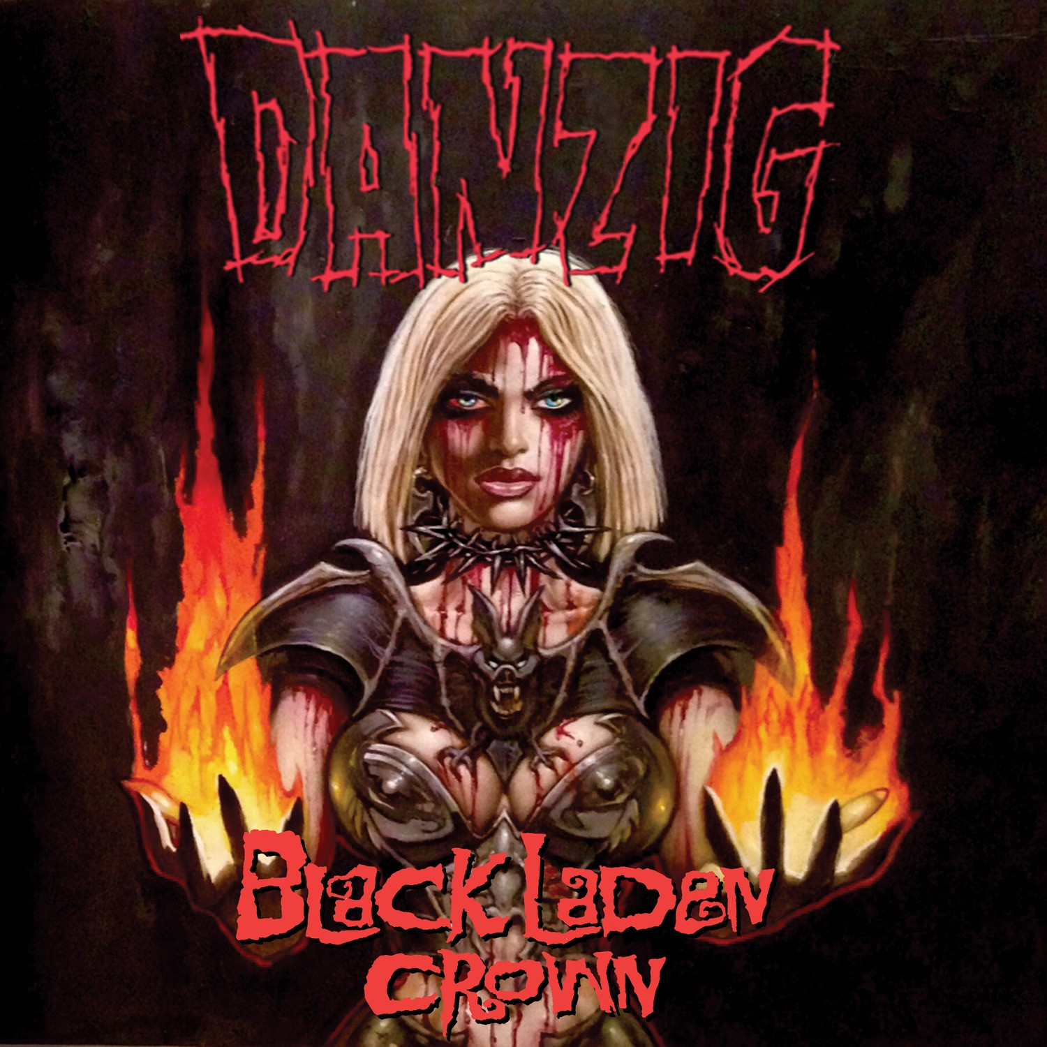 Danzig - Black Laden Crown LP
