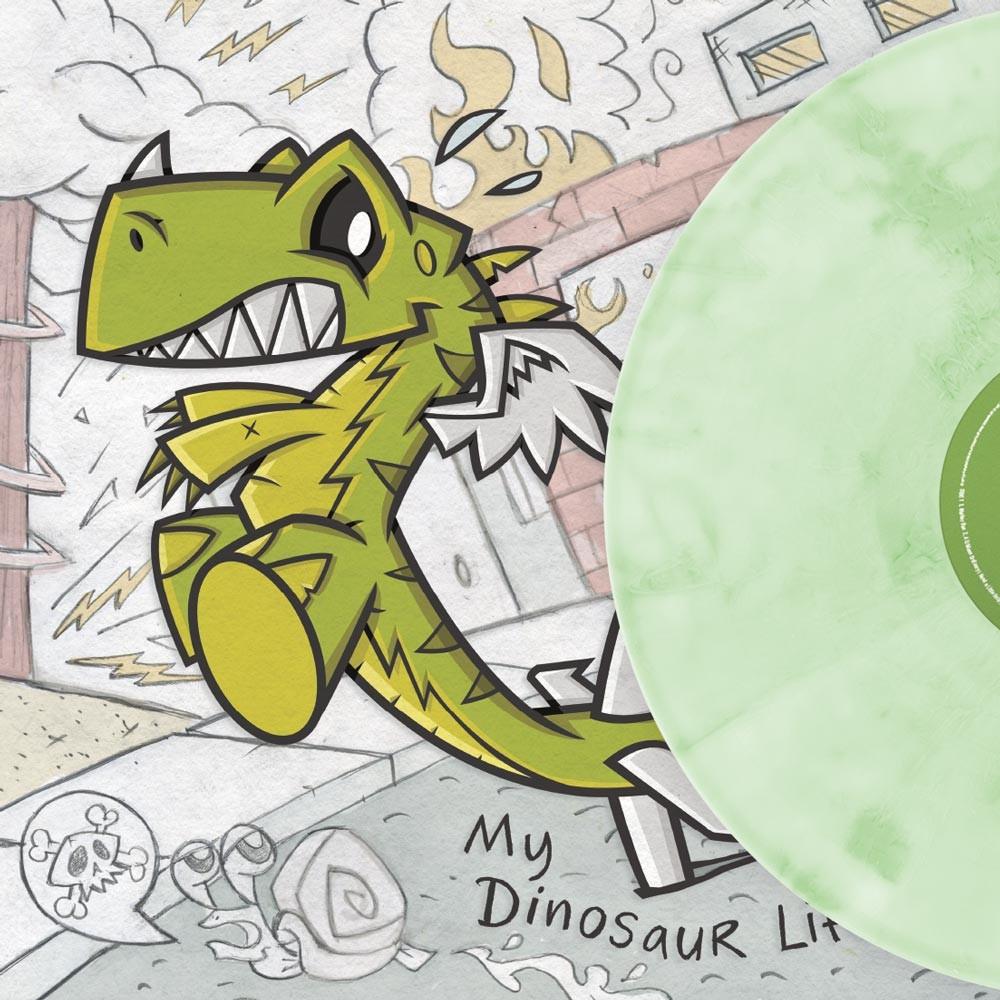 Motion City Soundtrack - My Dinosaur Life (Green) Vinyl LP