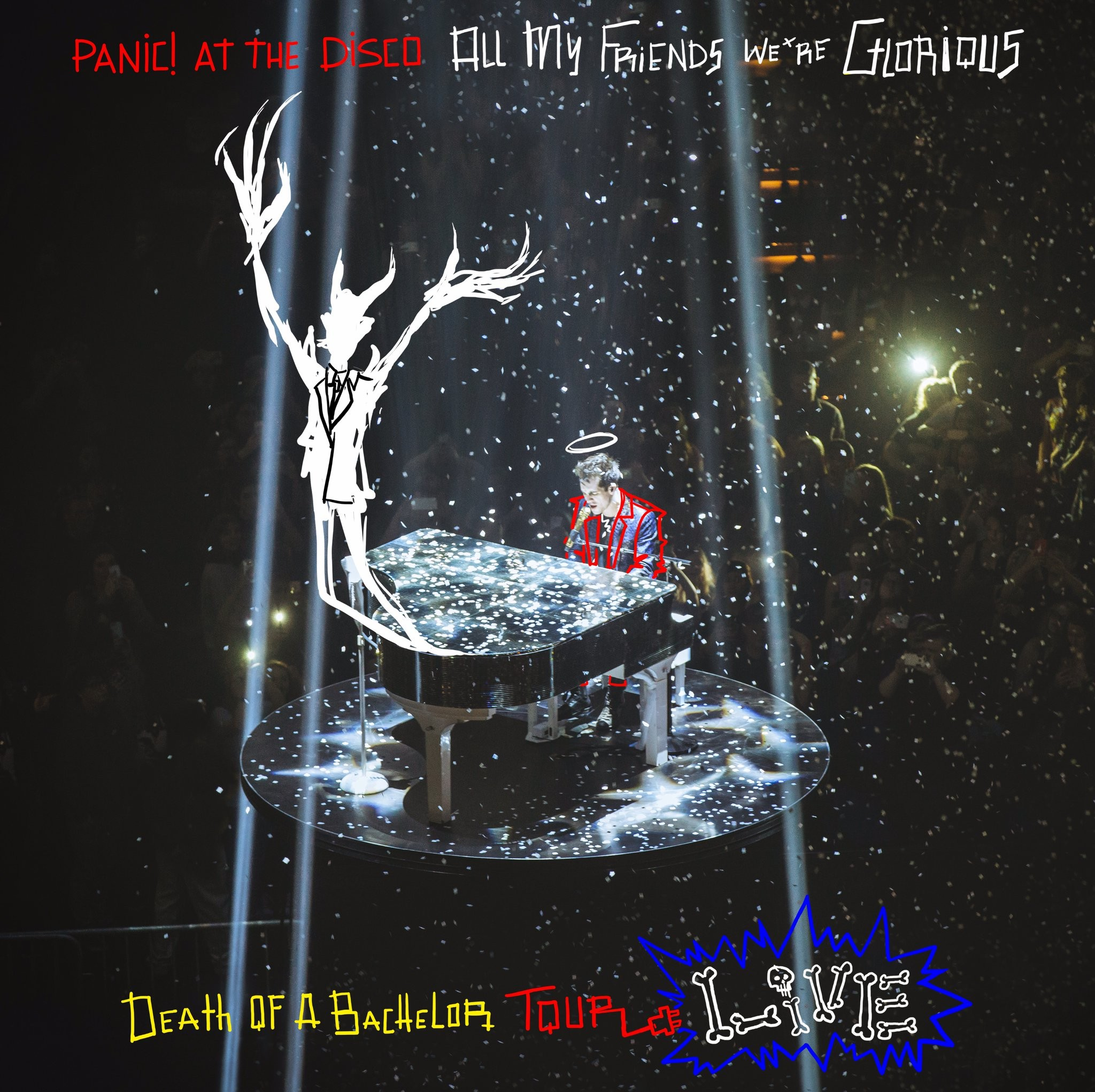 Panic! At The Disco - All My Friends, We're Glorious: Death Of A Bachelor Tour Live 2XLP