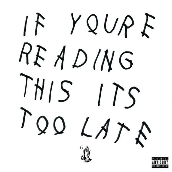 Drake - If You're Reading This It's Too Late 2XLP