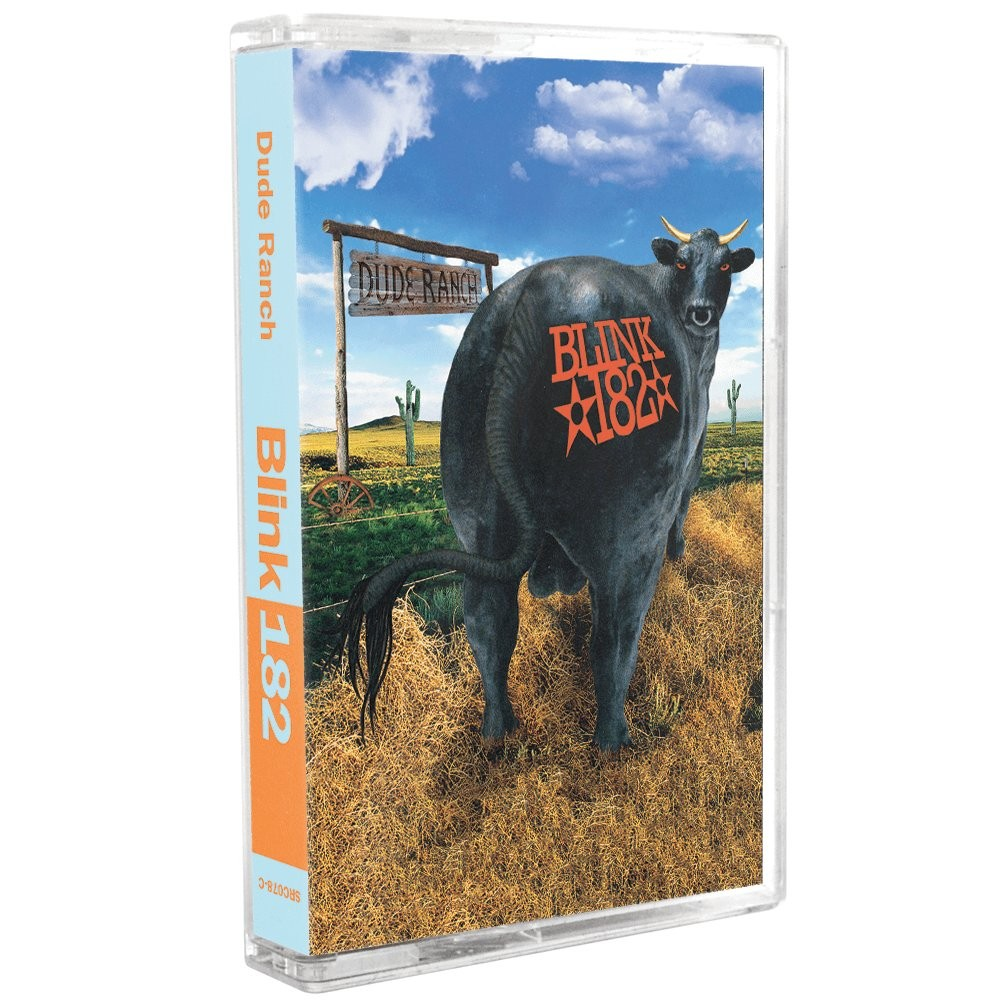 Blink 182 - Dude Ranch Cassette Tape