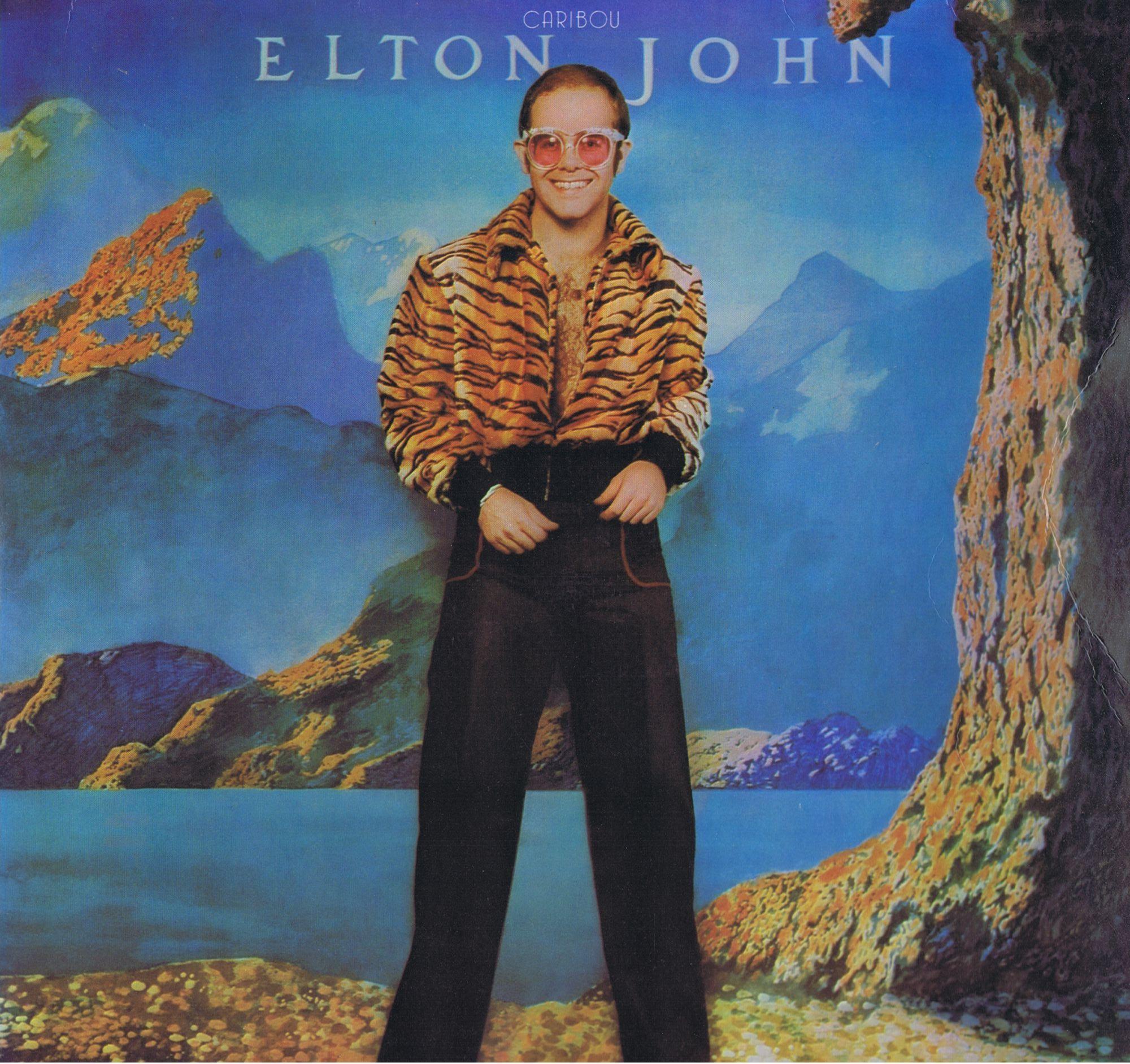 Elton John - Caribou LP