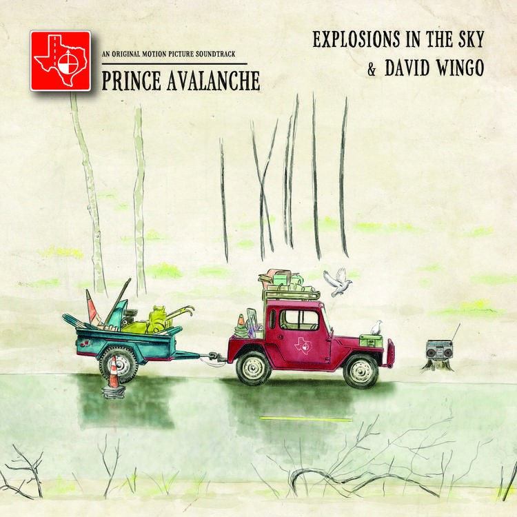 Explosions In The Sky & David Wingo - Prince Avalanche: An Original Motion Picture Soundtrack LP
