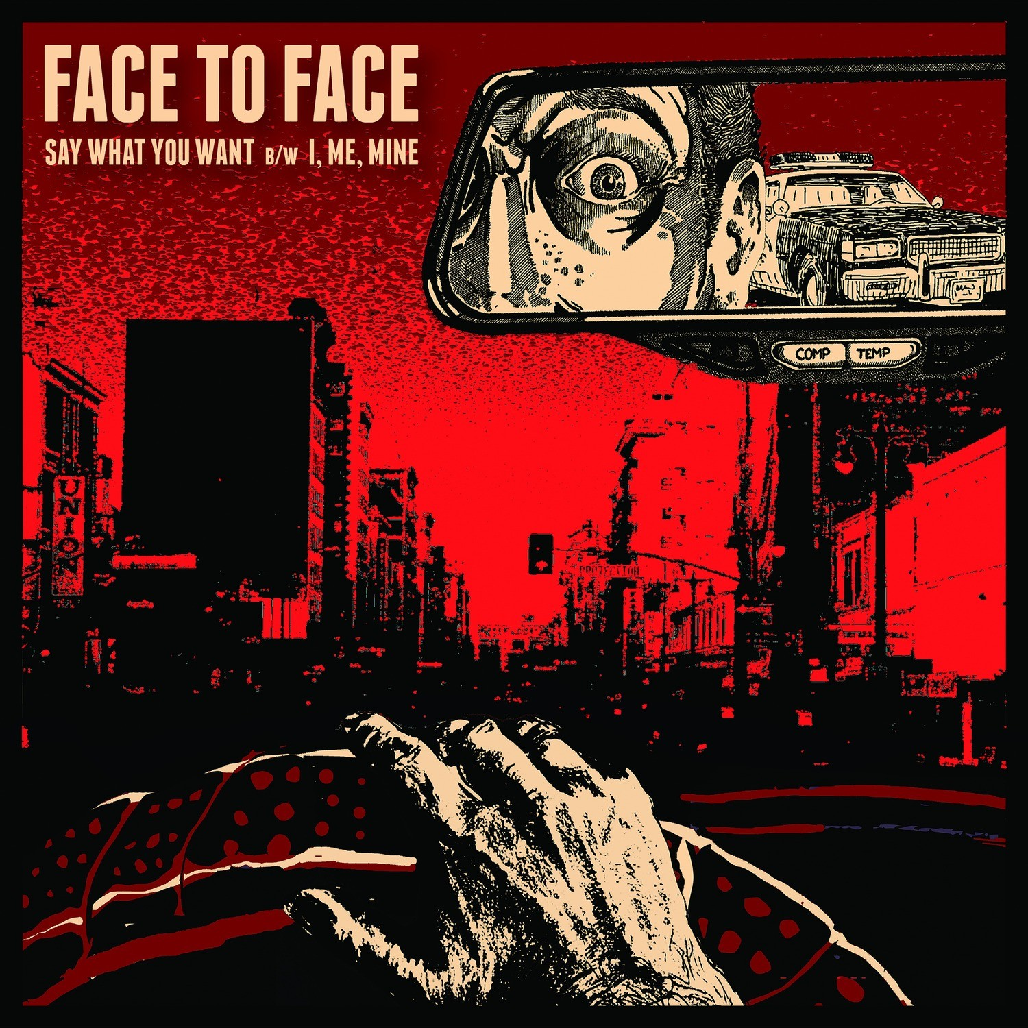"""Face To Face - Say What You Want 7"""" EP"""