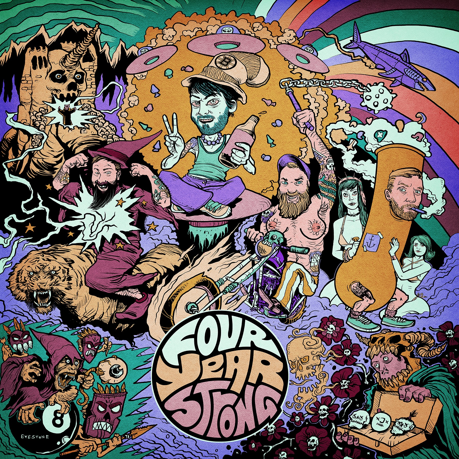 Four Year Strong - Four Year Strong LP