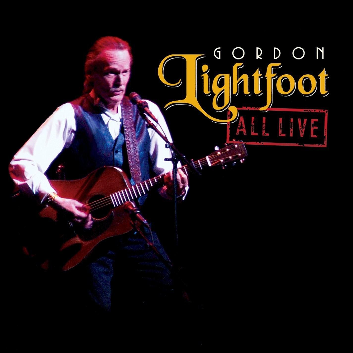 Gordon Lightfoot - All Live 2XLP