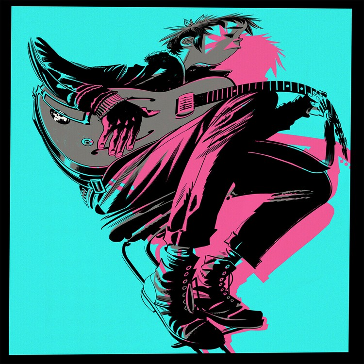 The Gorillaz - The Now Now (Deluxe) 2XLP Vinyl