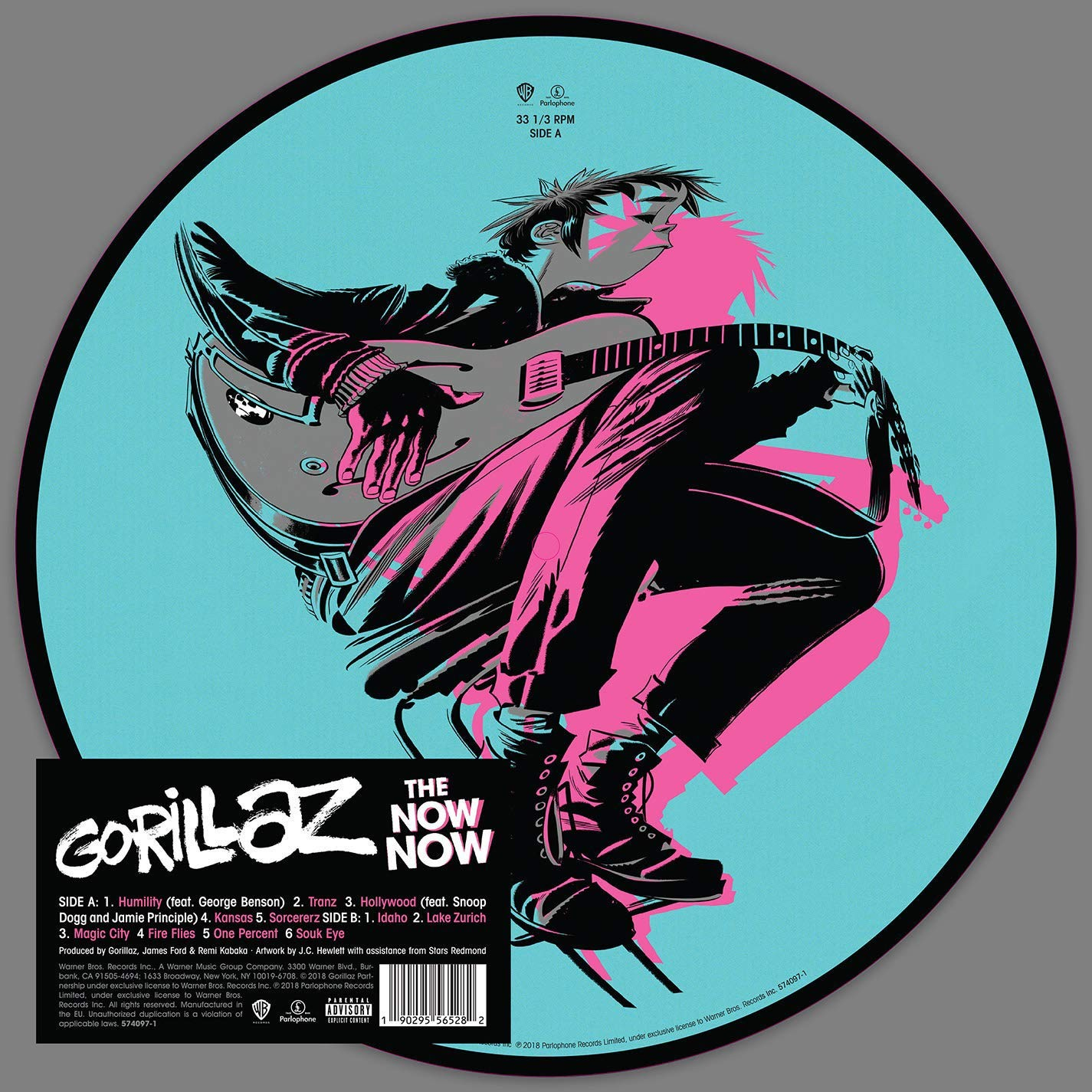 Gorillaz - Now Now (Picture Disc) Vinyl LP