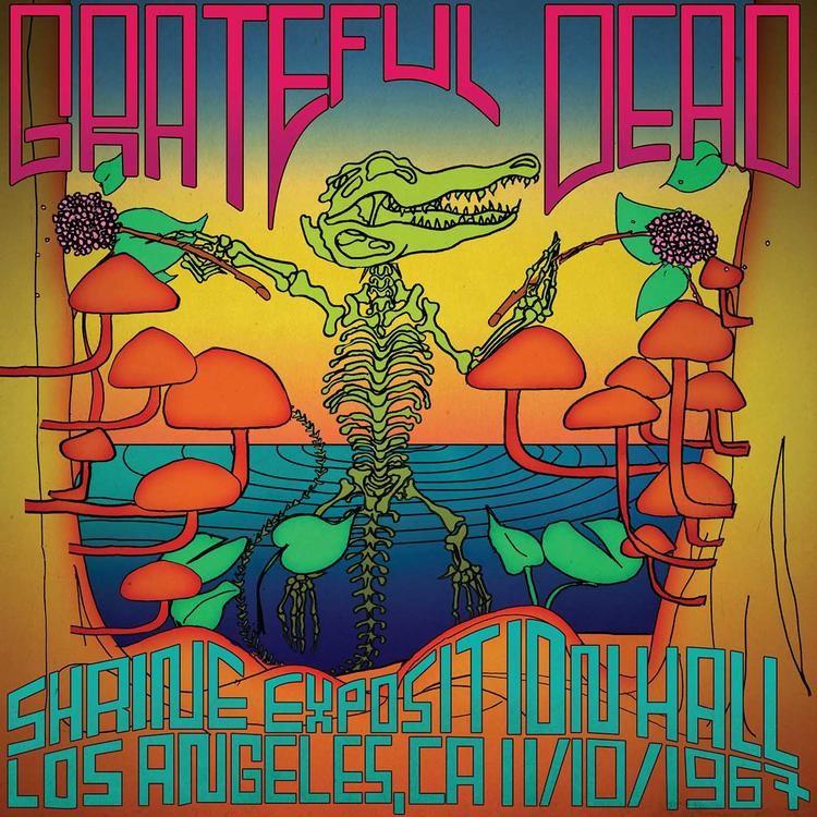 Grateful Dead - Shrine Auditorium, Los Angeles, CA 11/10/1967 3XLP