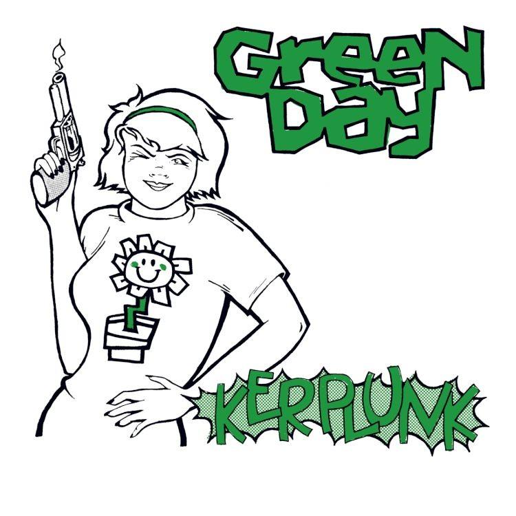"Green Day - Kerplunk LP + 7"""