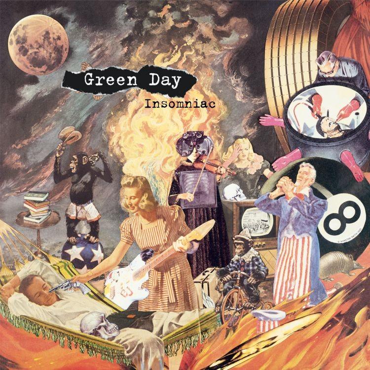Green Day - Insomniac LP