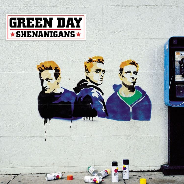 Green Day -  Shenanigans LP