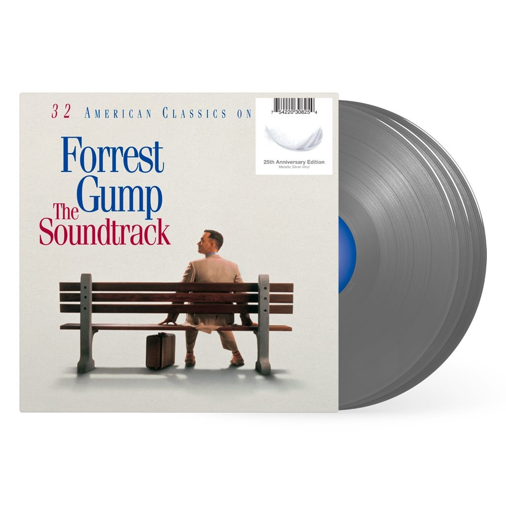 Soundtrack - Forrest Gump (25th Anniversary Silver) 3XLP