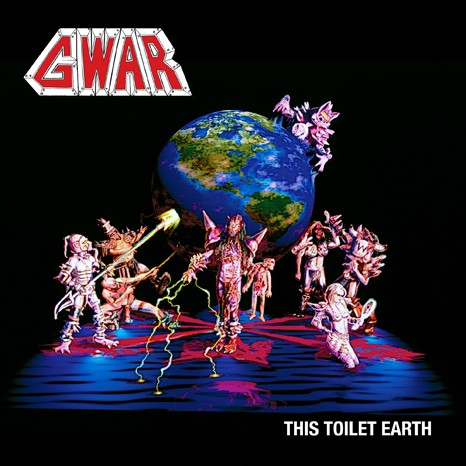 Gwar - This Toilet Earth vinyl LP