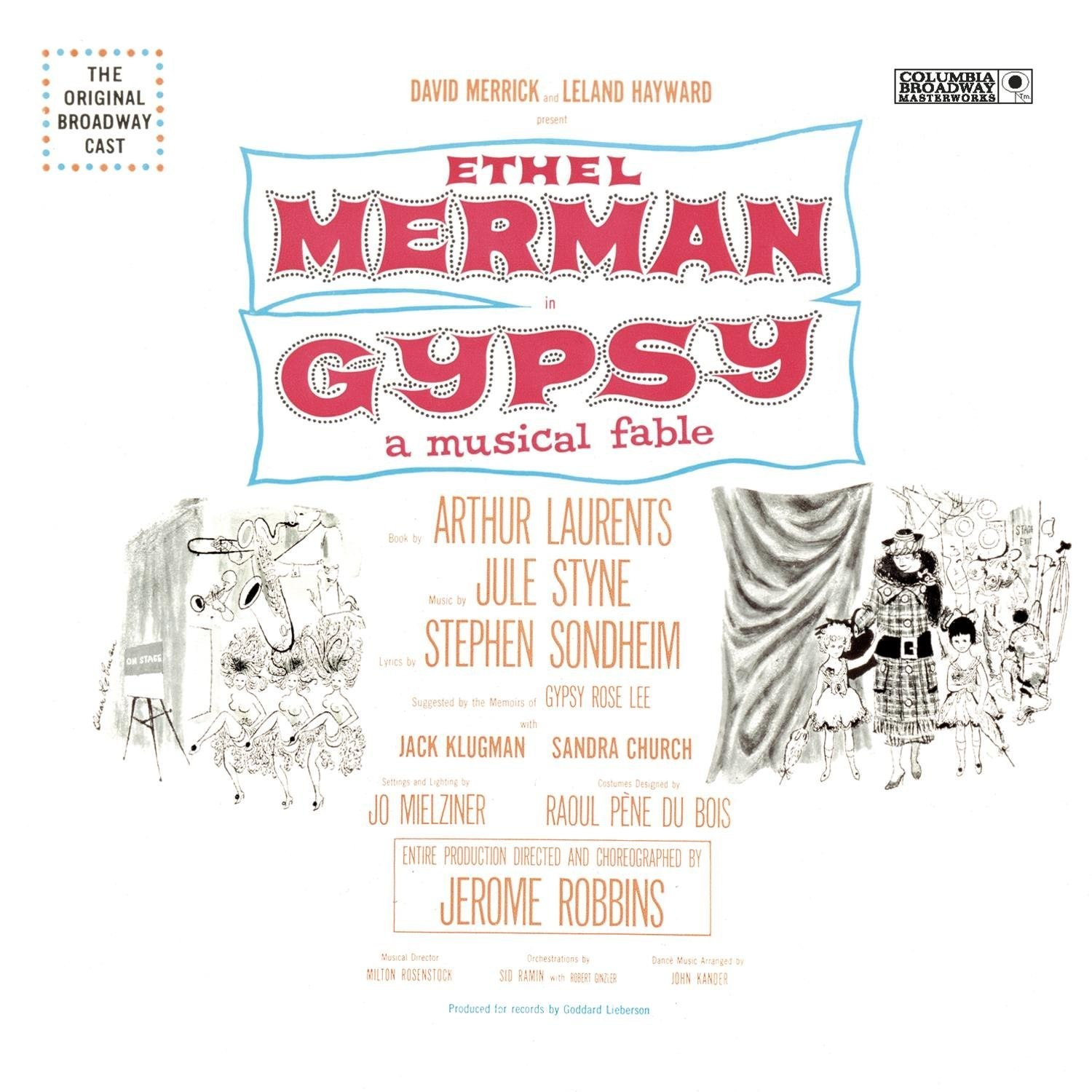 Various Artists - Gypsy: Original Broadway Cast Recording LP
