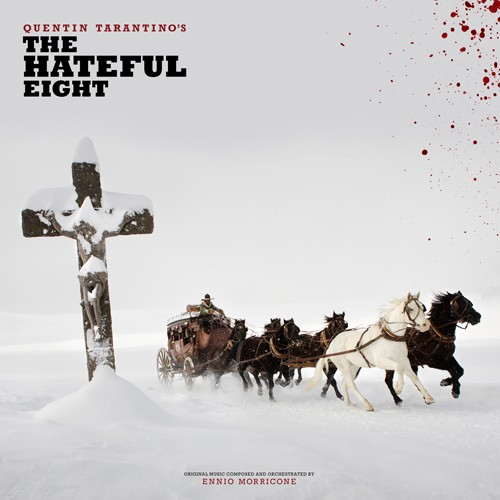 Various Artists - Quentin Tarantino's The Hateful Eight (Deluxe Soundtrack) 2XLP
