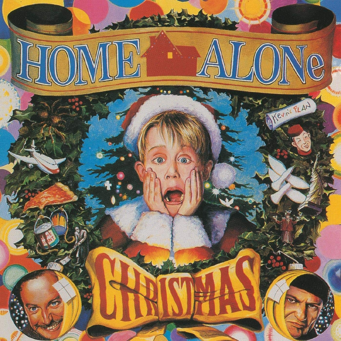 Various Artists - Home Alone Christmas (Green) Vinyl LP