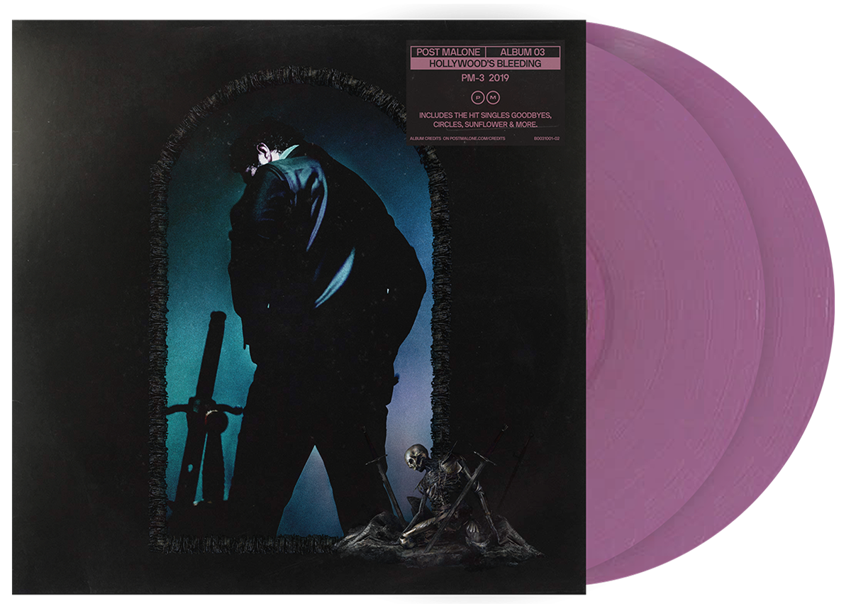 Post Malone - Hollywood's Bleeding (Pink) 2XLP