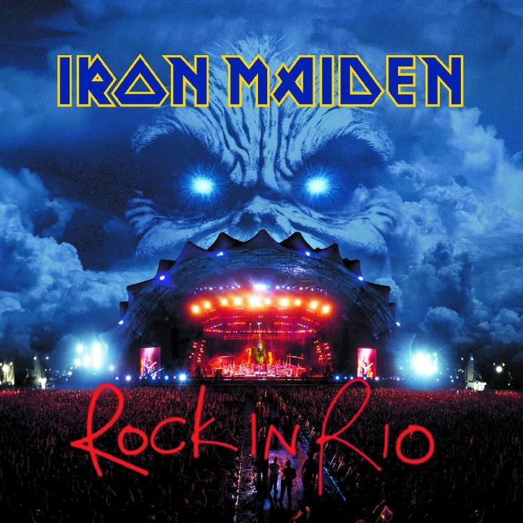 Iron Maiden - Rock in Rio 3XLP