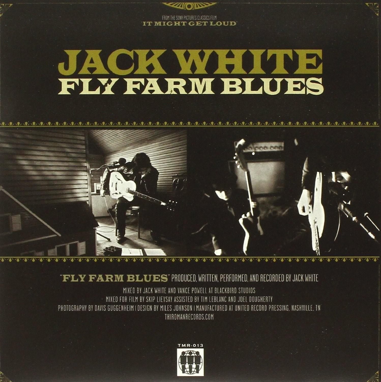 "Jack White - Fly Farm Blues 7"""
