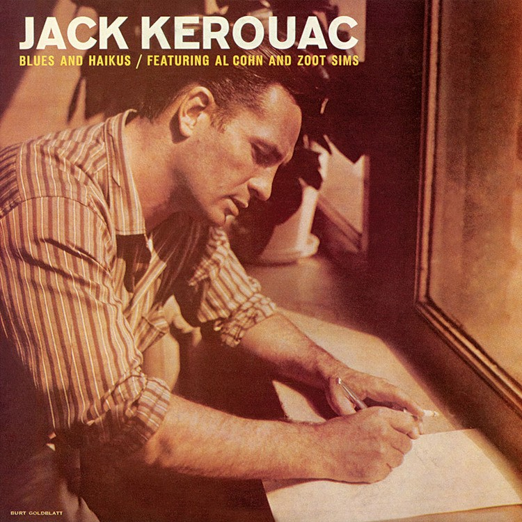 Image result for Jack Kerouac feat. Al Cohn and Zoot Sims - Blue & Haikus