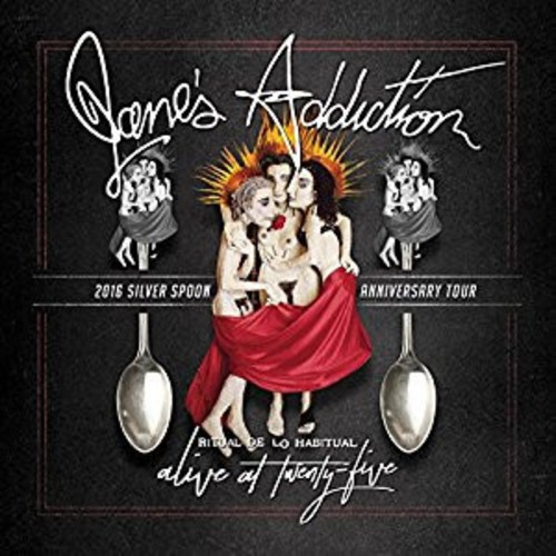 Jane's Addiction -  Alive At Twenty-five - Ritual De Lo Habitual Live 2XLP (Colored Vinyl)
