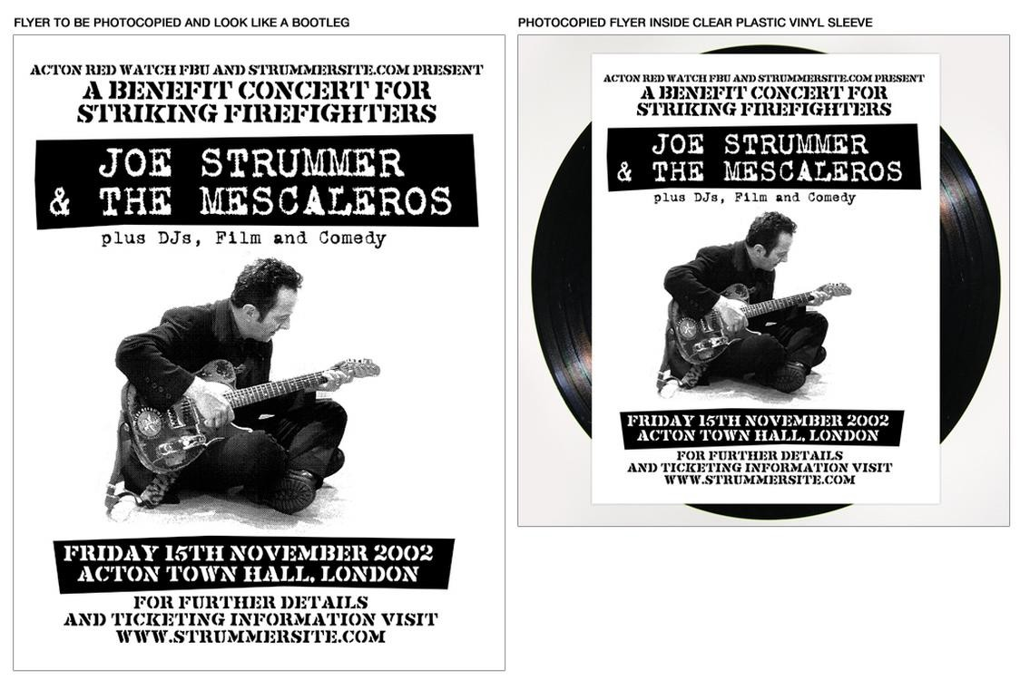 Joe Strummer & The Mescaleros - Live At Action Town Hall 2XLP