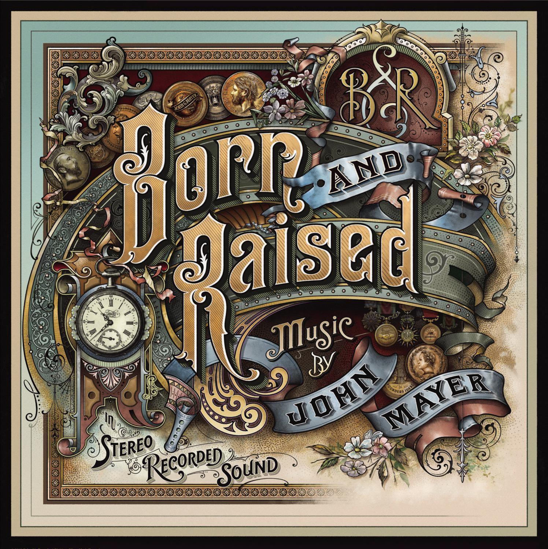 John Mayer - Born And Raised 2XLP