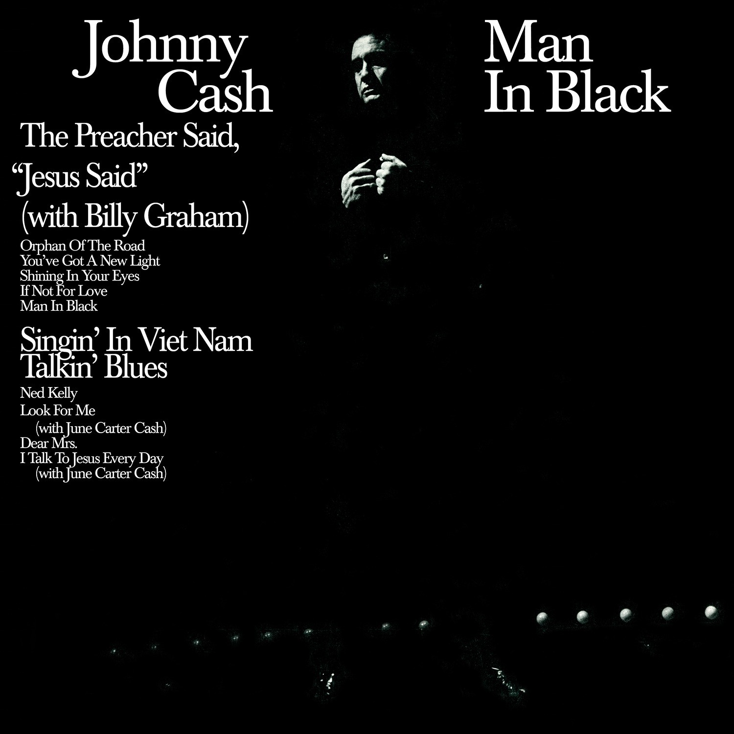Johnny Cash - Man In Black LP