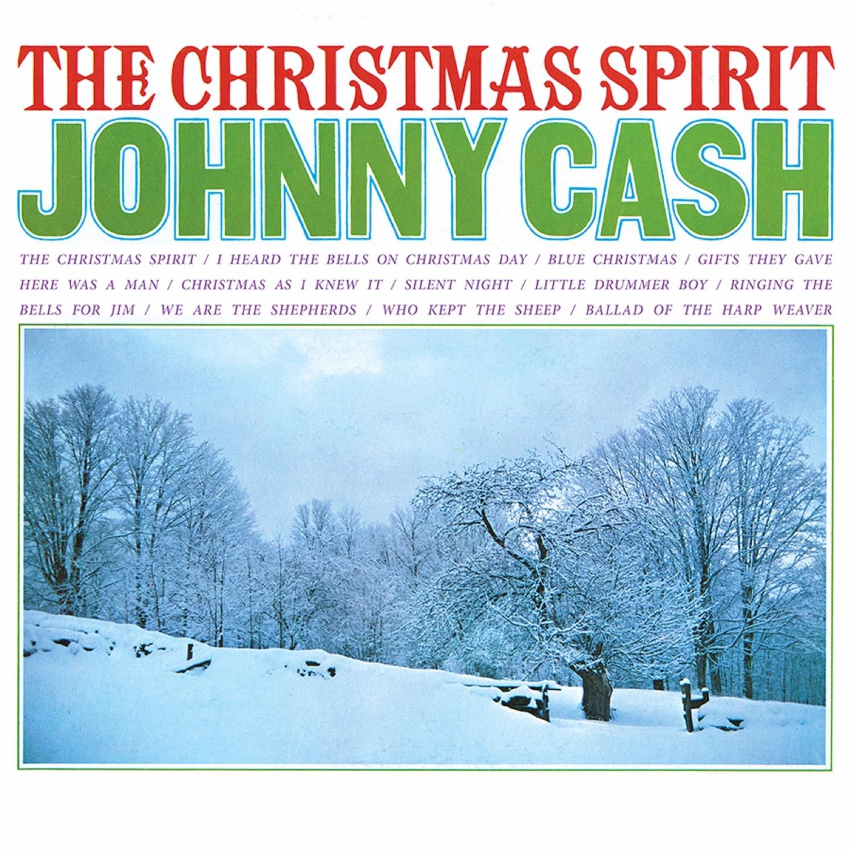 Johnny Cash - The Christmas Spirit (Red) LP