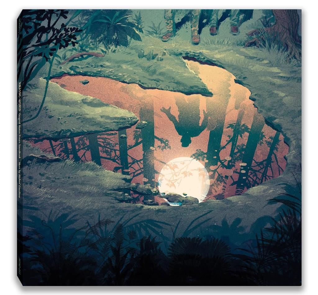 Michael Giachinno - Jurassic World (Original Motion Picture Soundtrack) 2XLP