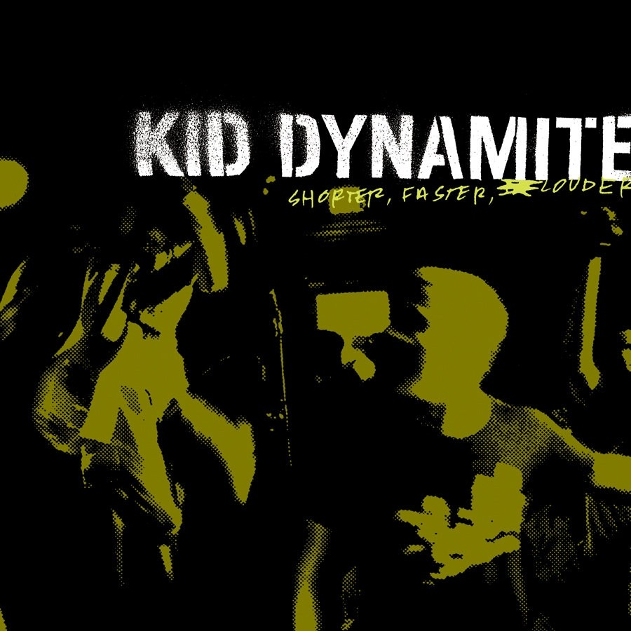 Kid Dynamite - Shorter Faster Louder (Black) Vinyl LP