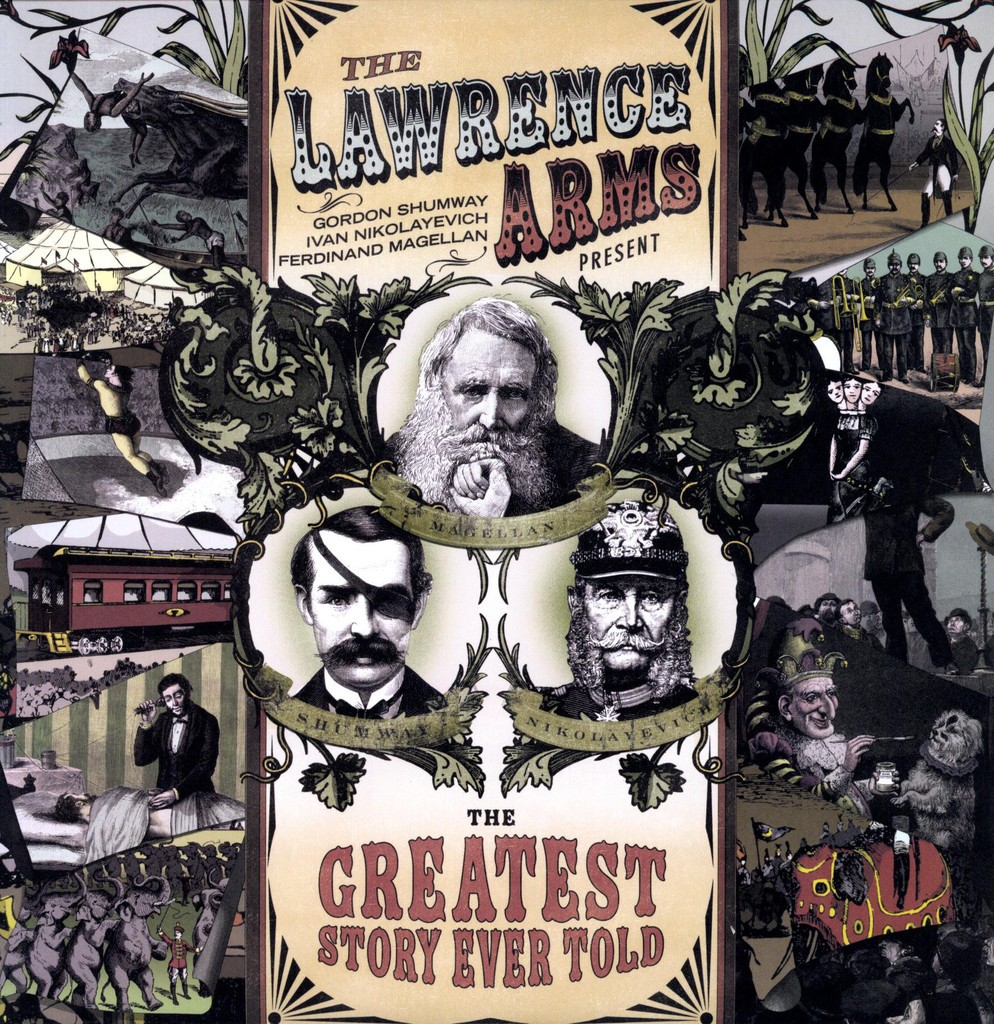 The Lawrence Arms - Greatest Story Ever Told LP