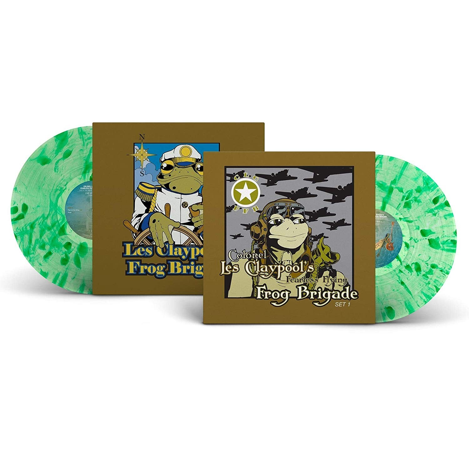 The Les Claypool Frog Brigade - Live Frogs Sets 1 & 2 3XLP Vinyl