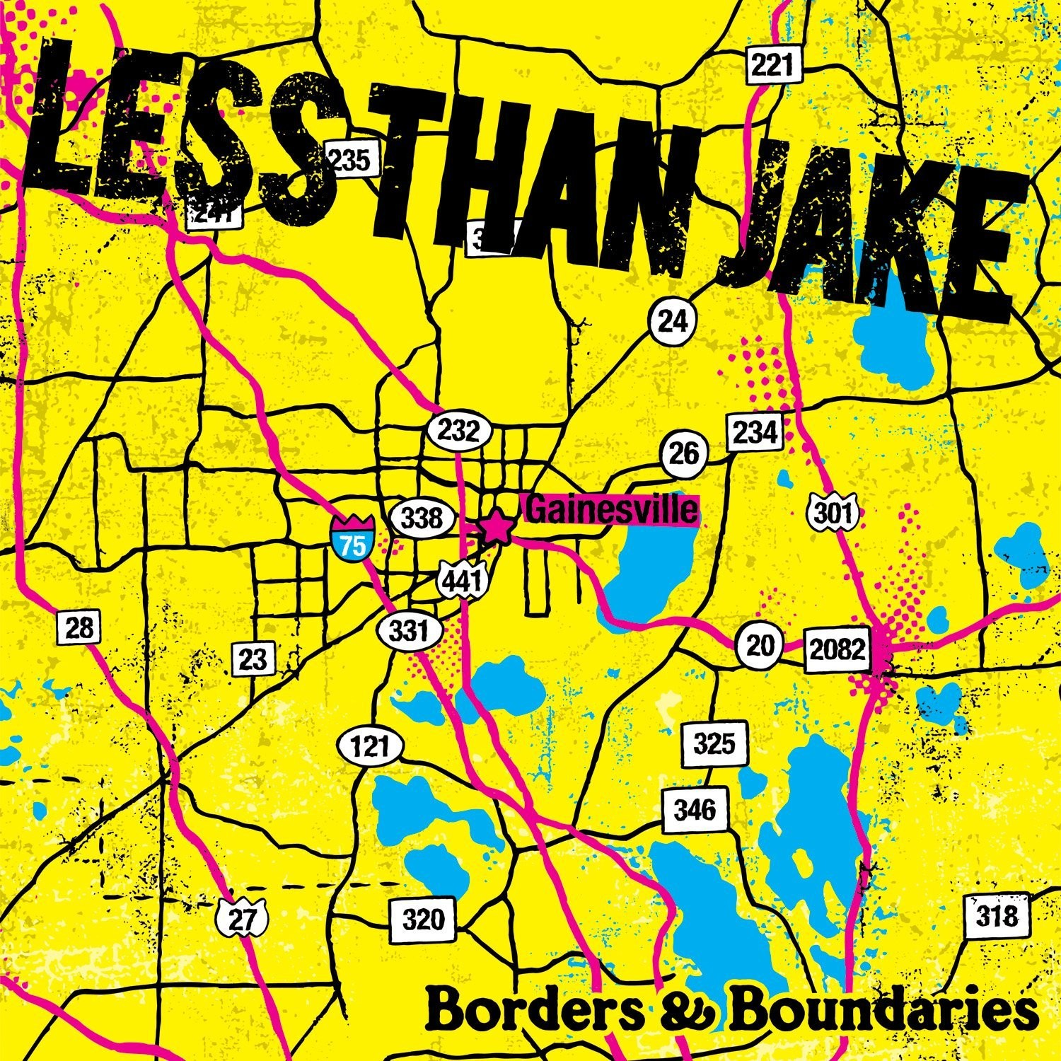 Less Than Jake - Borders and Boundaries LP (Reissue)
