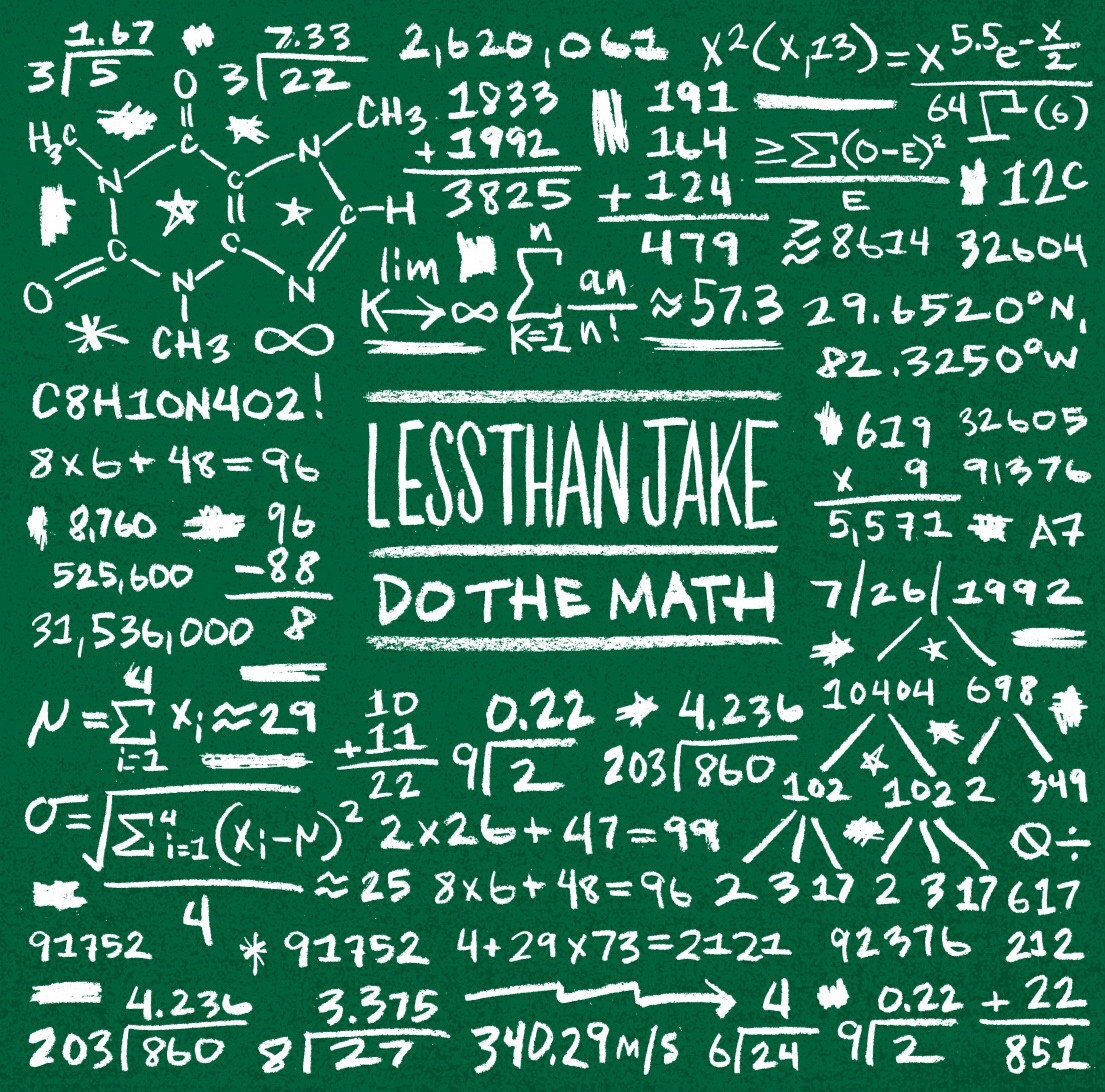 "Less Than Jake - Do The Math 7"" EP"