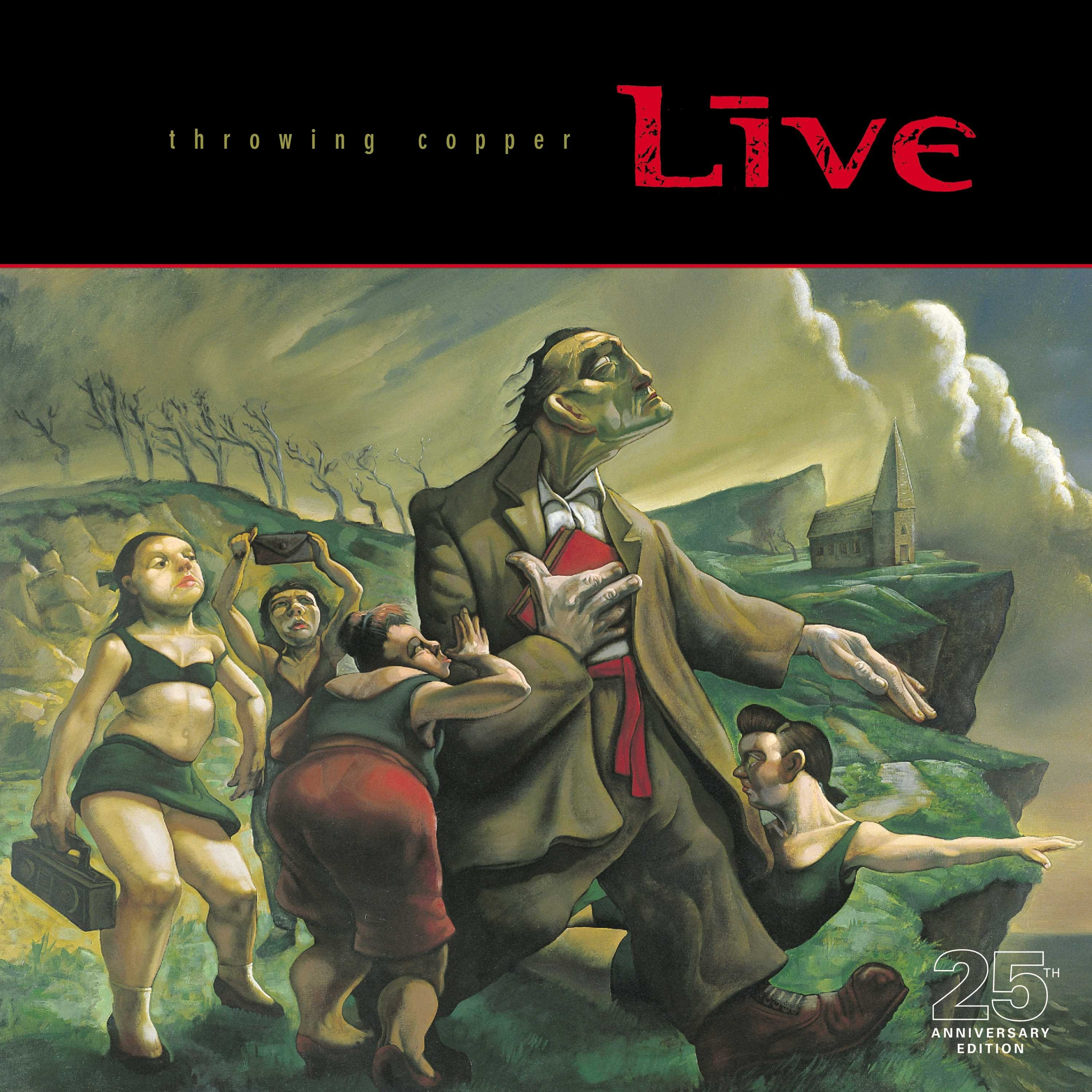 Live - Throwing Copper 2XLP vinyl (25th Anniversary)