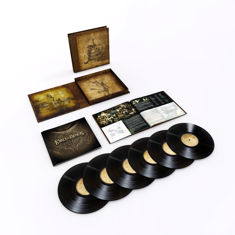 Howard Shore - The Lord Of The Rings Trilogy 6XLP vinyl