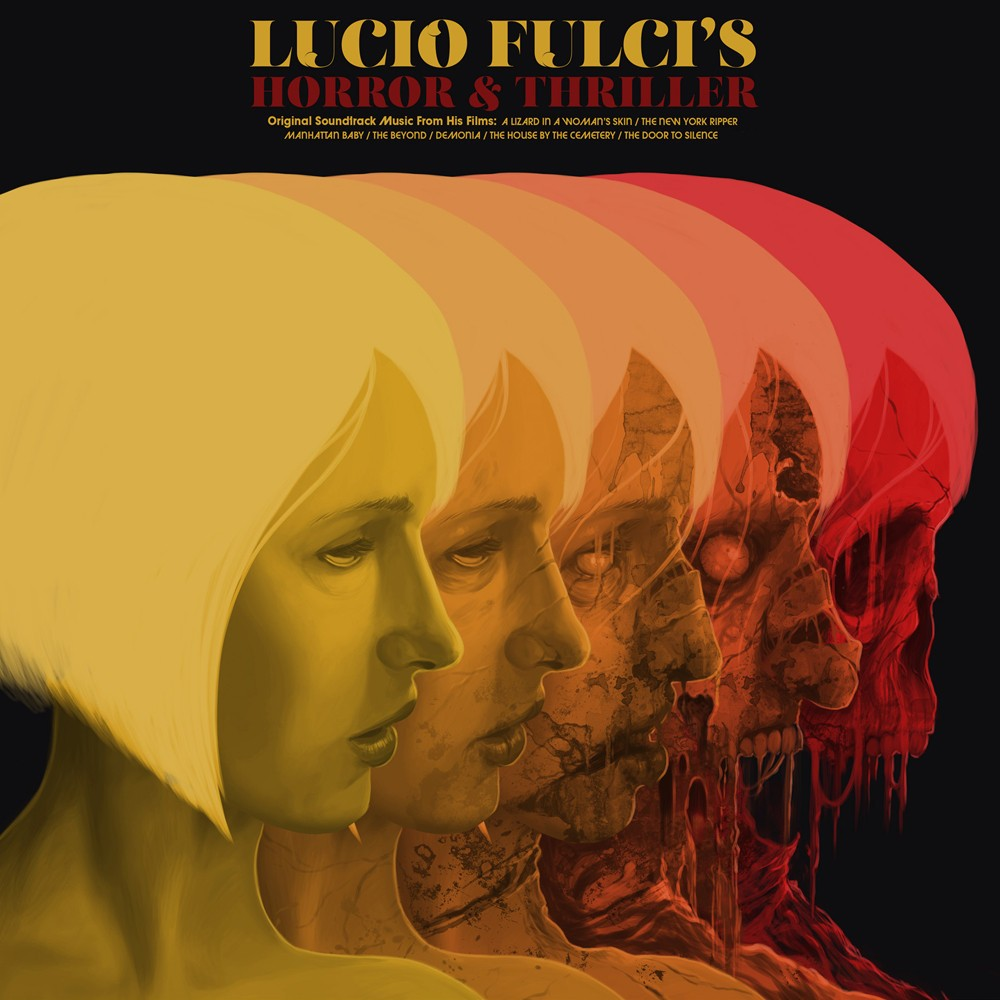 Various Artists - Lucio Fulci's Horror & Thriller Compilation 2XLP