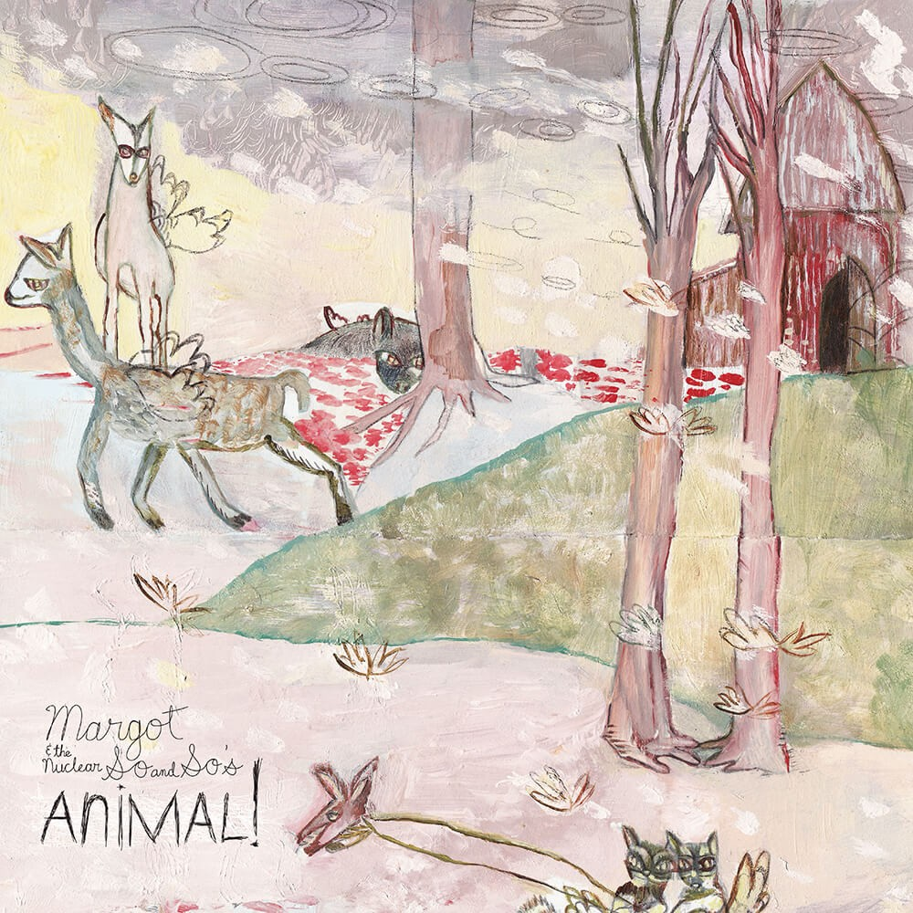 Margot & The Nuclear So And So's - Animal! 2XLP Vinyl Cover