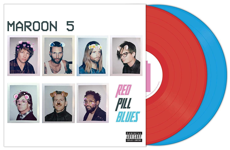 Maroon 5 -  Red Pill Blues (Red/Blue) 2XLP vinyl
