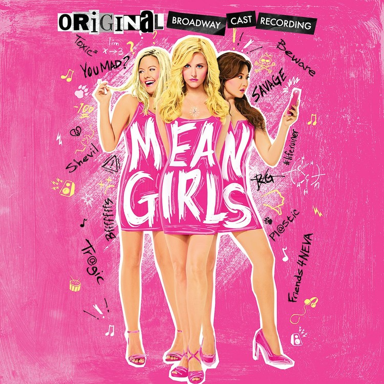 Soundtrack - Mean Girls (Original Broadway Cast Recording) 2XLP Vinyl