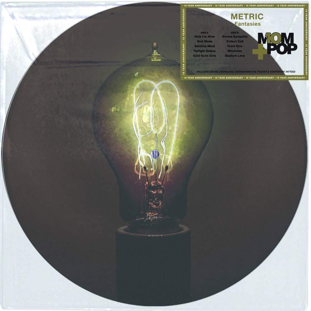 Metric - Fantasies (Picture Disc) Vinyl LP