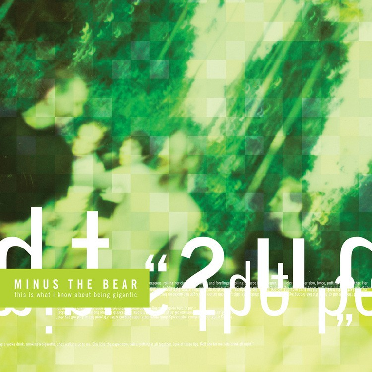 Minus The Bear -  This Is What I Know About Being Gigantic LP