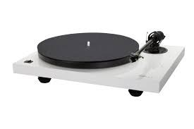 Music Hall - MMF-2.3WH Turntable High Gloss White W/Music Hall Cartridge