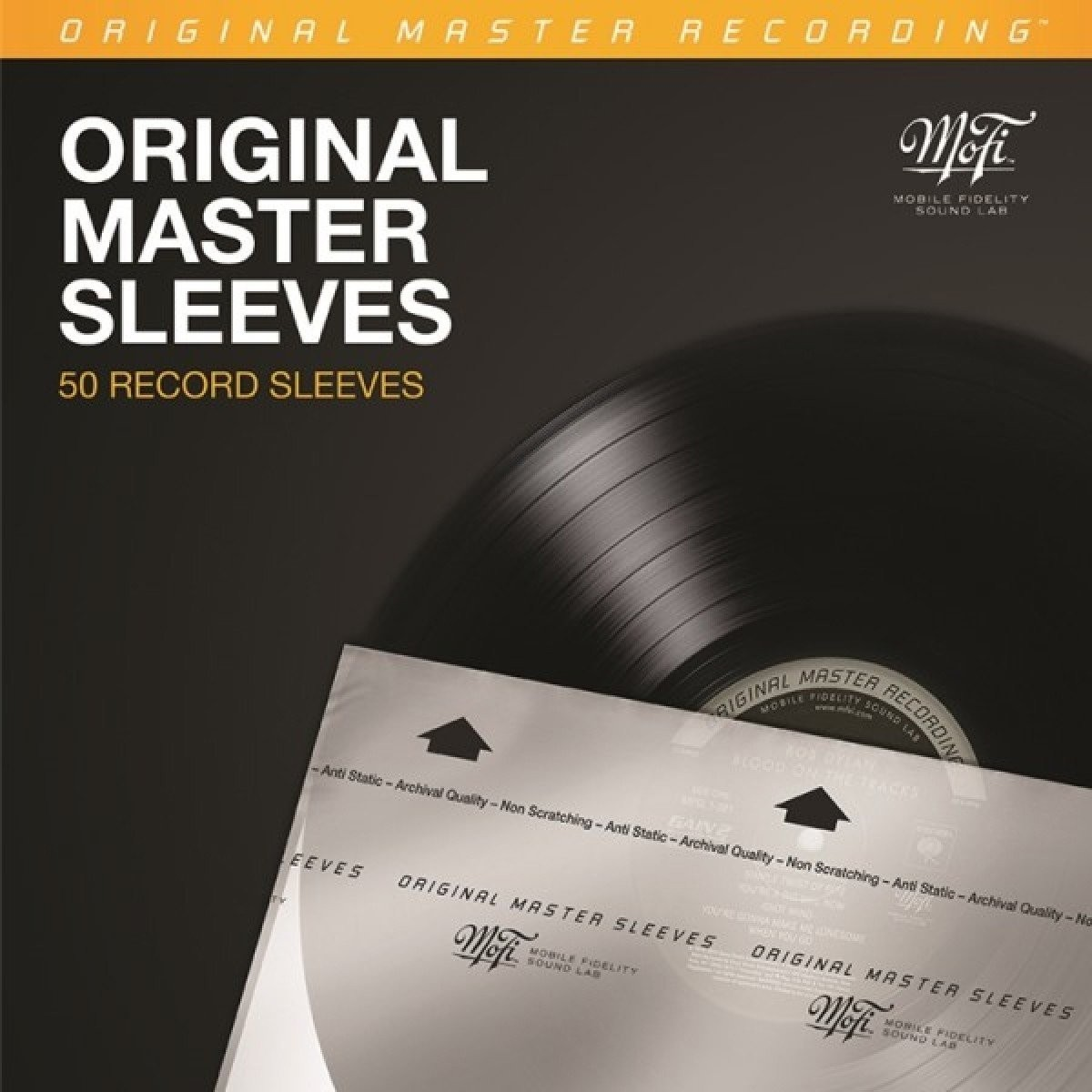 Mobile Fidelity Original Master Sleeves - 50 Pk