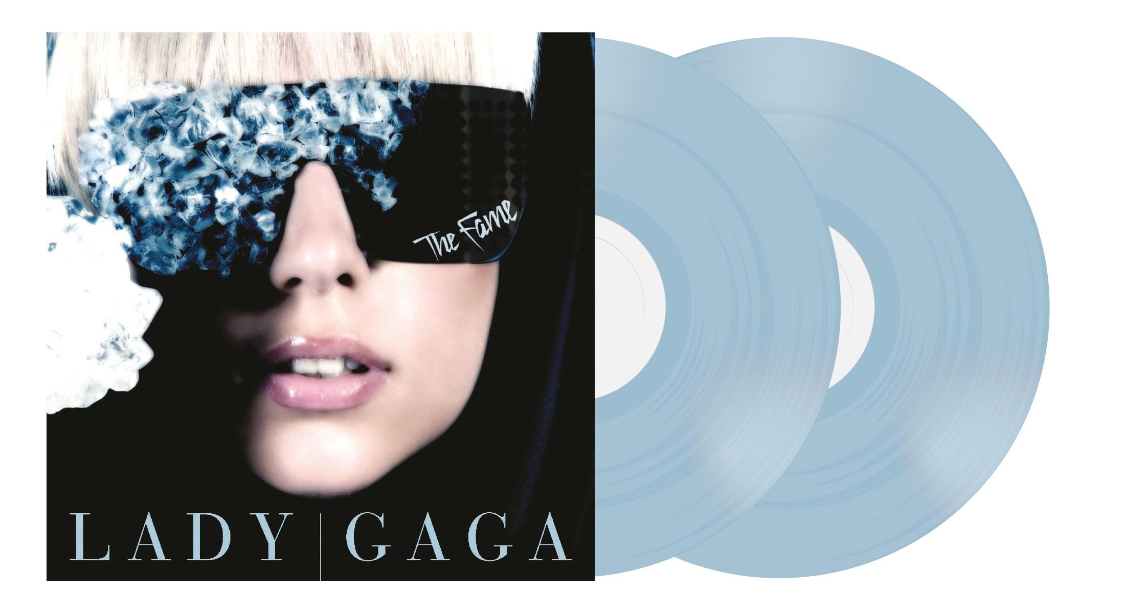 Lady Gaga - The Fame (Blue) 2XLP