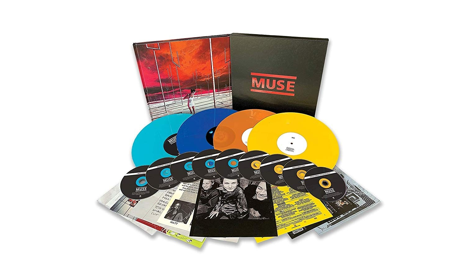 Buy Muse - Origins Of Muse Vinyl Boxset at SRCVinyl. Limited edition vinyl and CD boxset.