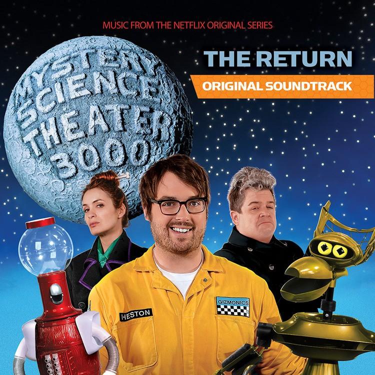 Soundtrack - Mystery Science Theater 3000: The Return (Blue-Grey) Vinyl LP