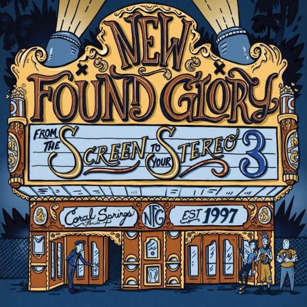 "New Found Glory - From The Screen To Your Stereo 3 10"" Vinyl"